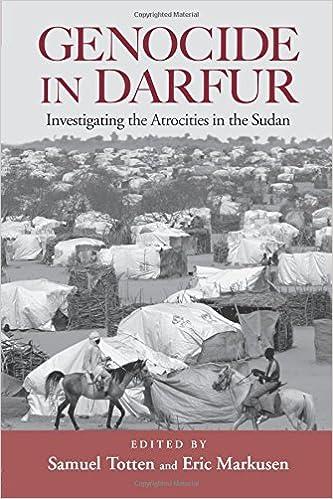 darfur genocide worksheet