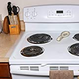 """Silicone Stove Counter Gap Cover Kitchen Easy Clean 21"""" Long Gap Filler Seals Spills Between Kitchen Counter Washer Dryer Silicone Gap For Oven Stoves Washing Machines 2 Pack Food Grade Space Fillers"""