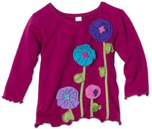 Love U Lots Baby Girls' Flower Stems Tee