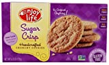 Enjoy Life Handcrafted Crunchy Cookies Gluten Free Sugar Crisp -- 6.3 oz (Pack of 12)