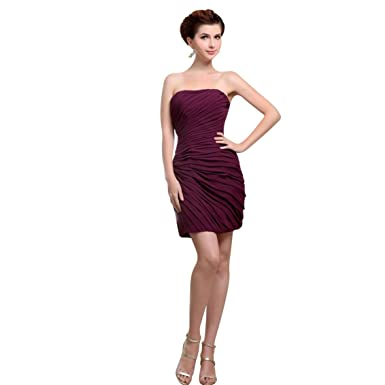 79ad43decb1 Elegant Juniors Strapless Short Homecoming Dresses Tight Fitted Under  100  3060 16 Red