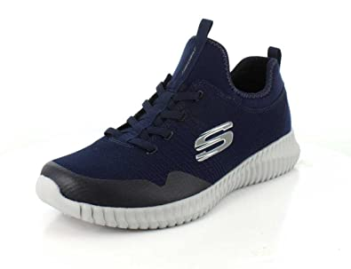 Skechers Mens Elite Flex - Lasker Navy Cross Trainer - 9