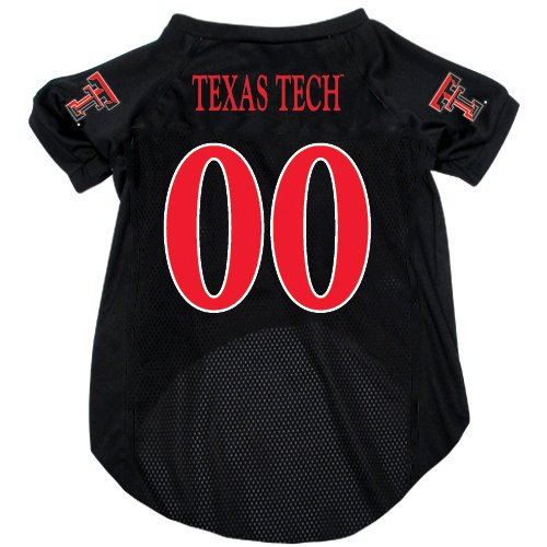 NCAA Texas Tech Red Raiders Pet Jersey,  Large