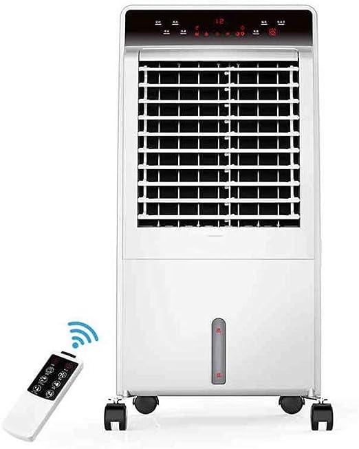 XIAOYAN Ventilador de Aire Acondicionado para Calentar y Enfriar Enfriador de Aire silencioso Ventilador refrigerado por Agua Hogar Unidad pequeña de Ahorro de ...