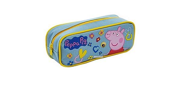 Amazon.com: Peppa Pig – Authentic oficial lápiz caso, Azul ...