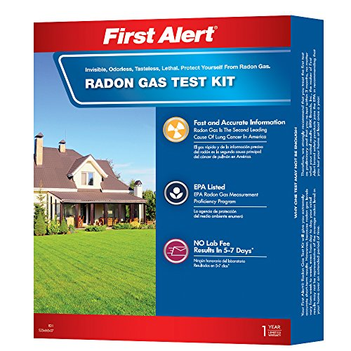 First Alert RD1 Radon Gas Test - Alarm Center
