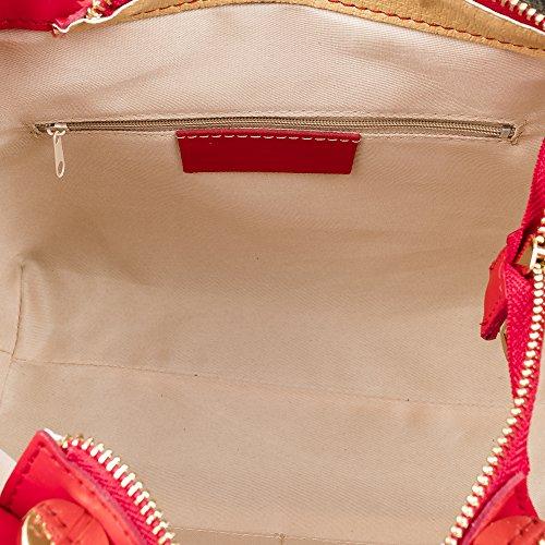 Tote Leather bolso Firenze Shoulder Skin Tamponato In Mujer Tamponato Auténtica Leather Red Made Skin Artegiani Color Piel Rojo Tote De Color Cuero Cm Cuero Piel 25x24x14 Cm Artegiani bolso bolso 25x24x14 Pelle Italian Vera Auténtica Firenze Soft Italiana Genuine Tacto Hombro Vera Pelle Genuino Italy bolso In Suave Made Woman Italy qgBEn0B1