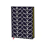 Studio Oh! Orla Kiely Linear Stem Fabric-Covered A5 Journal