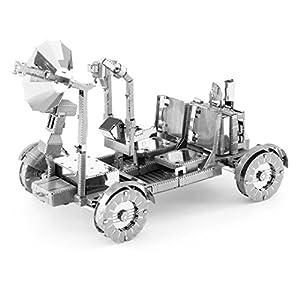 Metal Earth Fascinations Mms094 502515 Apollo Lunar Rover Giochi Di Costruzione 2 Metallo Aggiornamento A Partire Da 14 Anni