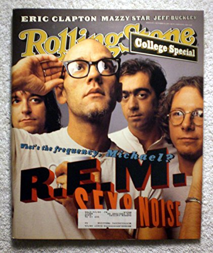 Michael Stipe, Bill Berry, Peter Buck & Mike Mills - R.E.M. - Rolling Stone Magazine - #693 - October 20, 1994 - Mazzy Star, Jeff Buckley articles