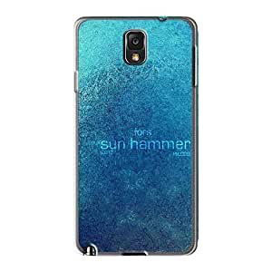 Excellent Cell-phone Hard Covers For Samsung Galaxy Note3 With Unique Design Realistic Breaking Benjamin Series AlainTanielian