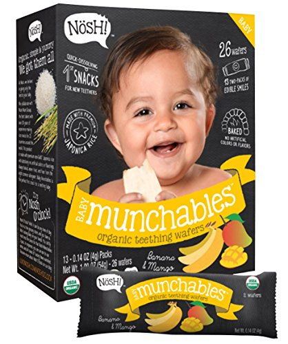 Nosh Baby Munchables Banana and Mango, 1.9 Ounce