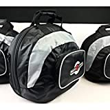 RaceChoice Deluxe Helmet Bag with inside and exterior pockets and Shoulder Strap