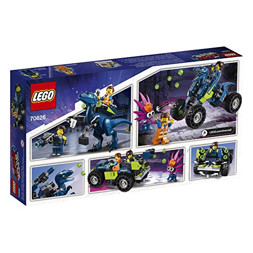 51o9W1mORlL - LEGO THE LEGO MOVIE 2 Rex's Rex-treme Offroader! 70826 Dinosaur Car Toy Set For Boys and Girls, Action Building Kit (230 Pieces)