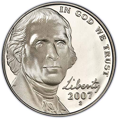 2020 W Proof Jefferson Nickel Choice Uncirculated US Mint
