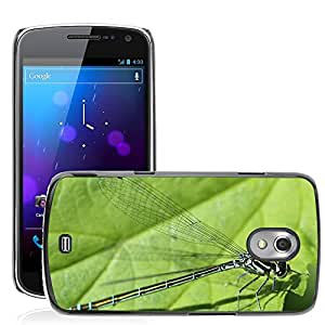 Super Stella Slim PC Hard Case Cover Skin Armor Shell Protection // M00103922 Dragonfly Insect Spring Early Summer // Samsung Galaxy Nexus GT-i9250 i9250