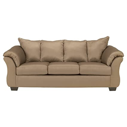 Genial Ashley Furniture Signature Design   Darcy Contemporary Microfiber Sofa    Mocha