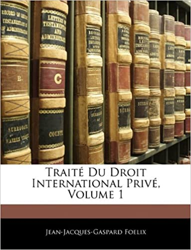 Livres Traite Du Droit International Prive, Volume 1 epub pdf