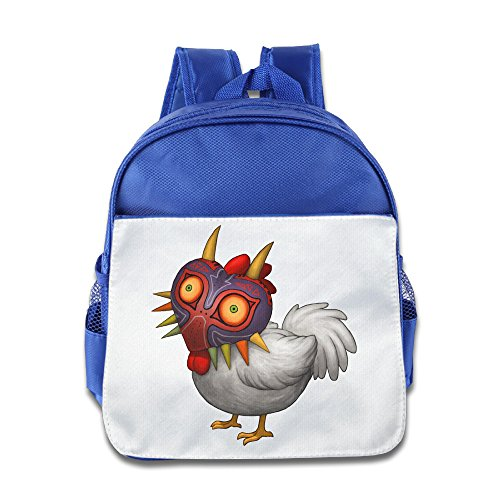 XJBD Custom Cool The Legend Of Zelda Children School Bagpack For 1-6 Years Old RoyalBlue