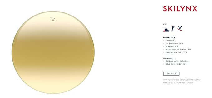 Amazon.com: Vuarnet VL1306P00G7184 - Gafas de sol con marco ...