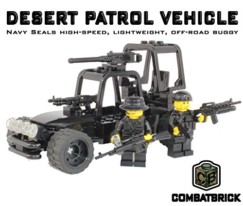 Custom Army Builder Model Kit - Navy Seals Desert Patrol Fast Attack Vehicle (Fast Attack Vehicle)