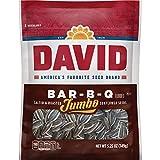 DAVID Roasted and Salted Bar-B-Q Jumbo Sunflower Seeds, 5.25 oz