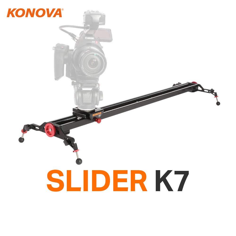 Konova Camera Slider Dolly k7 120 cm ( 47.2インチ)サポートできブロードキャストカメラLike ENGカメラ   B00CHI319U