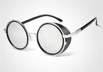 SKQC Gafas de Sol, Estilo Steampunk Gafas de Sol polarizadas ...