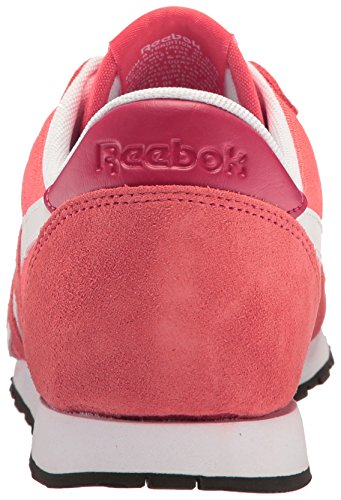 Reebok Donna Classic Nylon Slim Hv Scarpe Da Corsa Fire Coral / Canyon Red / White / Pacific Purple / Black