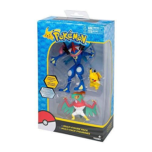 Pokemon Tomy Multi Figure 5-Pack - PIKACHU, EEVEE, FLAREON,