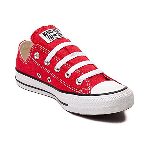 Converse Unisex All Star Chuck Taylor Lo Top Sneakers Rosso