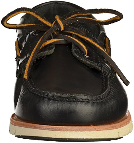 Barco de encaje zapatos Timberland CA1BHT Tidelands 2 Ojo Negro Negro Brando Negro