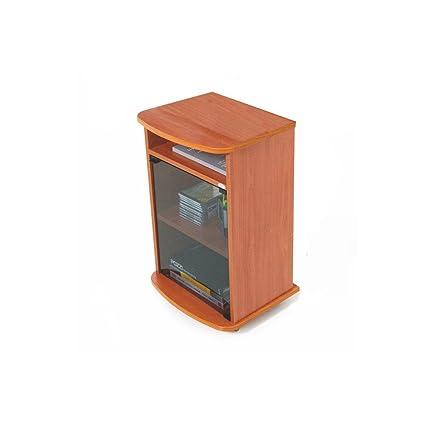 73 Carrello Porta Ciliegio Con Vetrina Mobile Color Tv Cm 47x40xh 8kX0wOPn