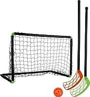 Stiga Sports Unihockeyset Set Player 60, Schwarz, 79-1100-60