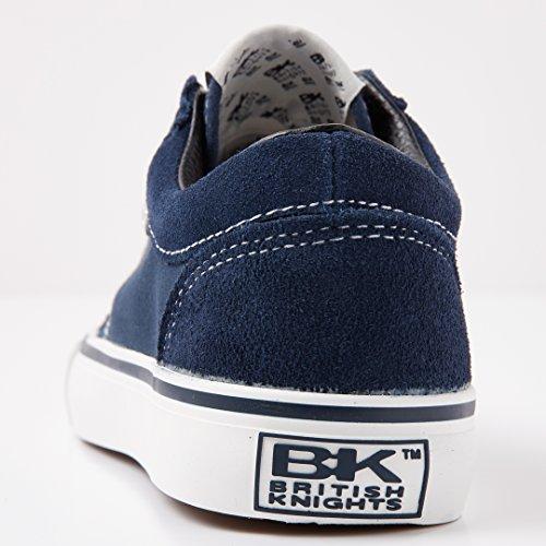 Homme Marine Knights blanc Basses Mack Sneakers British Bleu 4FxYI4q