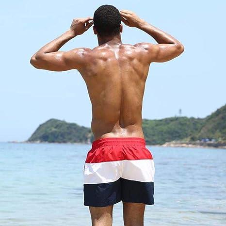 MAZF Bañador para Hombre Traje de baño Quick Dry Surf Beach Shorts ...
