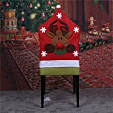 Bar Stools for Sale Near Me ASMGroup Christmas Decorations for Home Santa Claus Chair Cover Christmas Dinner Table Party Red Hat Chair Covers Reindeer