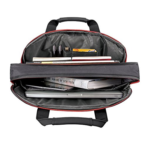 Solo 15.6 Inch Mission Briefcase with RFID Pocket Black