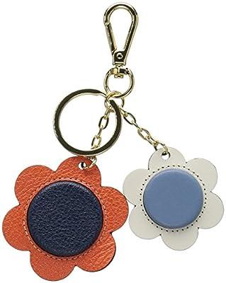 Orla Kiely Giant Flower Leather Key Ring