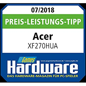 Acer XF0 (XF270HUA) Monitor de juegos IPS de 69 cm (27