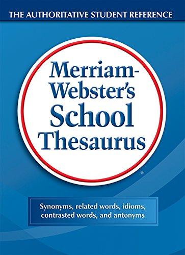 Webster's School Thesaurus (Teacher Supply Store Dallas)