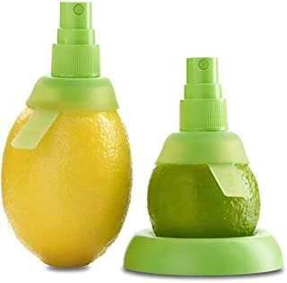 product image for Citrus Sprayer Lemon Lime, 3pcs, in 8cm & 10.5 Cm, Holder Plate, Screw Lock & Pump Top