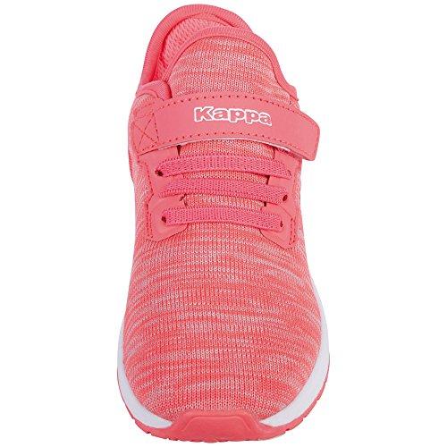 Kappa Paras ML Kids, Zapatillas Para Niñas Pink (2210 Pink/White)