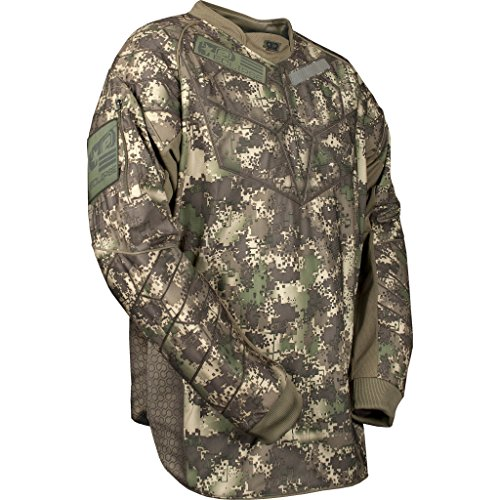 Distortion Paintball Jersey - Eclipse HDE Jersey Camo Large