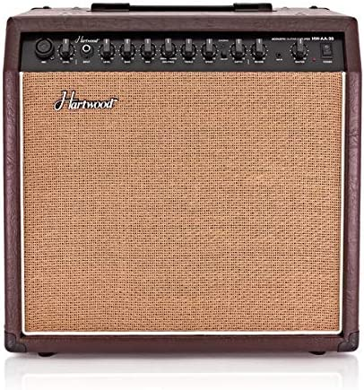 Amplificador de Guitarra Acustica de 30 W Hartwood: Amazon.es ...