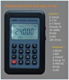 TOPCHANCES LB02 Versatile Resistance Current Voltmeter Signal Generator Source Calibrator 420ma/0-10v/mv LCD display