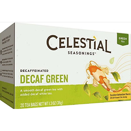 CELESTIAL SEASONINGS Decaffeinated Green Tea 20 BAG