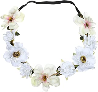 NPRADLA Elegante Boho Ladies Floral Flower Festival Wedding Garland Capelli Head Band Beach Party Trucco Neonata
