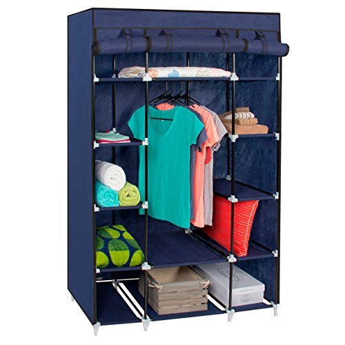 Best Choice Products 13 Shelf Fabric Closet Wardrobe