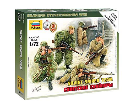 (Zvezda Models Soviet Snipers Model Kit (1/72 Scale))